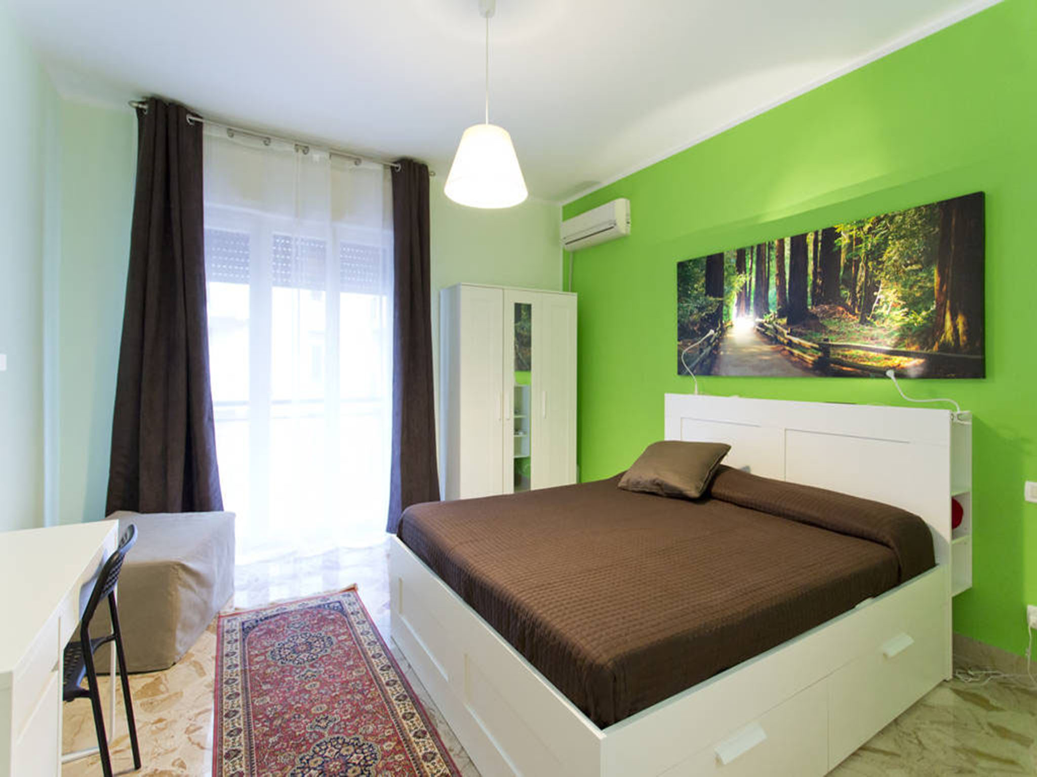 Bed and Breakfast La Favorita zona stadio a Palermo - Papa's Room Ensuite