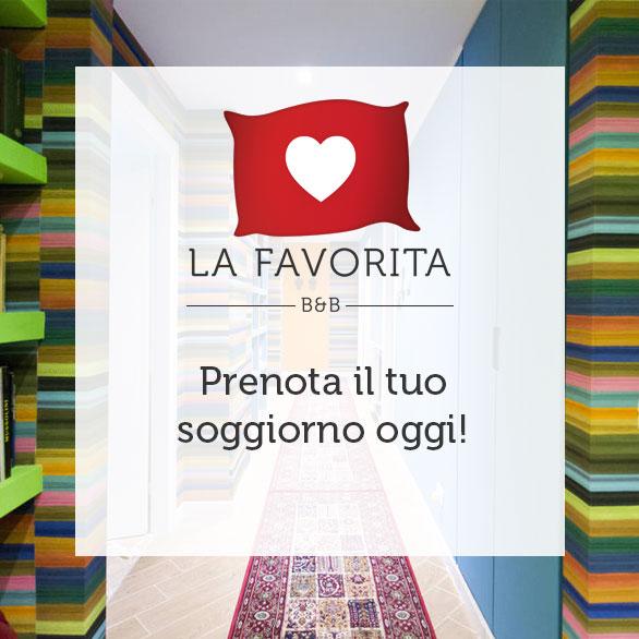 Prenota e soggiorna al B&B La Favorita a Palermo